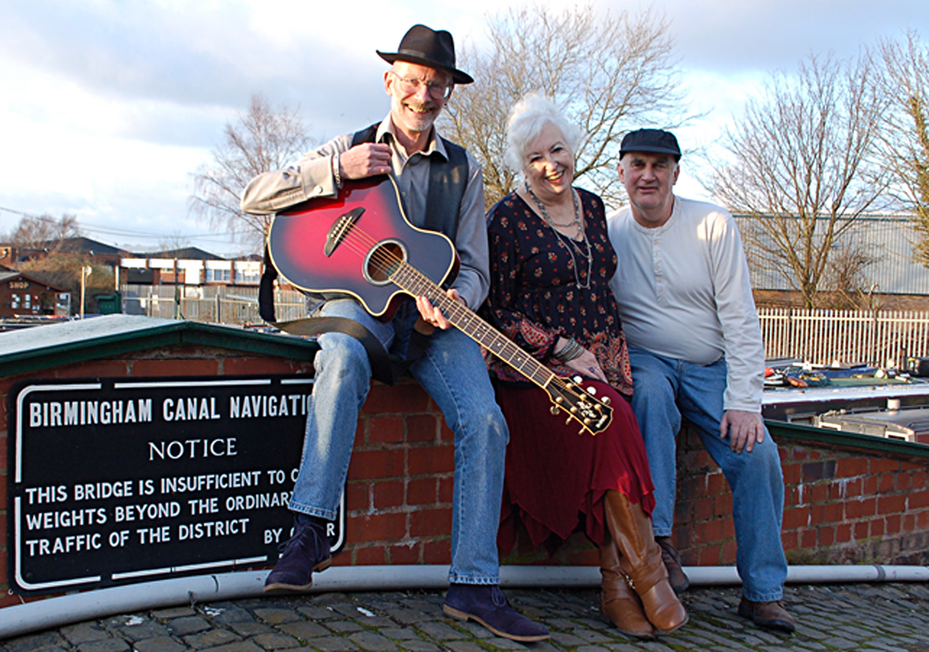 Folk band the Light Side, who will be performing at Lichfield and Hatherton Canals Restoration Trust's Autumn Show