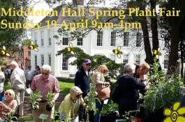 Spring Plant Hunters' Fair at Middleton Hall on Sunday 19th April 2020