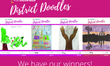 Visit Lichfield announces District Doodles winners