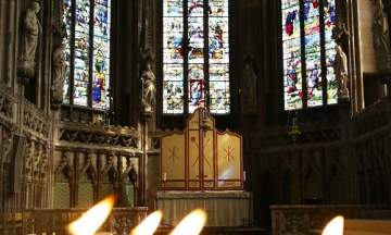 Small Candles and Lady Chapel - Chris Day